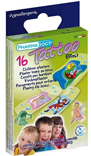 farmaceutische doct tattoo kinderen pleister 16 stuks