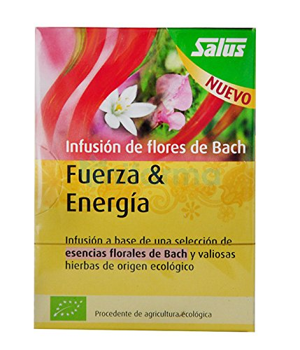 Infusión Flores de Bach Fuerza y energía