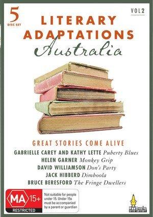 Literary Adaptations Australia (Vol. 2): Puberty Blues / Monkey Grip / Don's Party / Dimboola / The Fringe Dwellers [5 DVDs] [Australien Import]