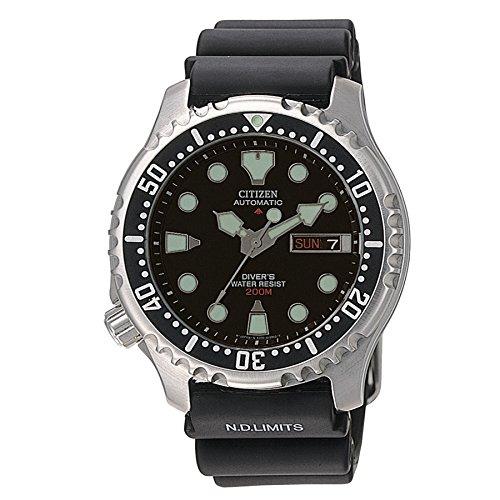 Citizen - NY0040-09EE Montre Homme Automatique Analogique Cadran - bracelet en...