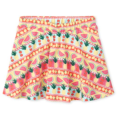 The Children's Place Baby Girls' Printed Matchable Skorts, Wild Azalea, 2T