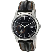 Hamilton Timeless Classic Analog Display Swiss Automatic Men's Watch (Black) (H40515731)