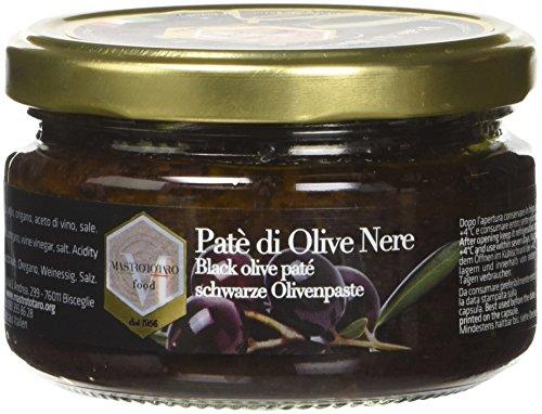 Mastrototaro Food Patè di Olive Nere