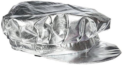 Rire Et Confetti - Fiedis036 - Accessoire pour Déguisement - Casquette Argent