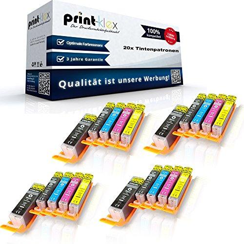 20x Kompatible Tintenpatronen für Canon Pixma MG...