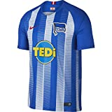 Nike Herren Hertha BSC Breathe Stadium Home T-Shirt, Hyper Cobalt/White/Speed Red, M