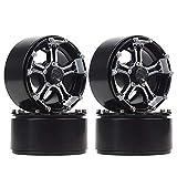 Negro Drfeify Tuerca de Bloqueo de Rueda Antideslizante de 12 Piezas de 4 mm Repuestos RC Aptos para Axial Traxxas TRX4 TRX6 SCX10 1//10 RC Model Car