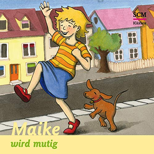 Maike wird mutig audiobook cover art