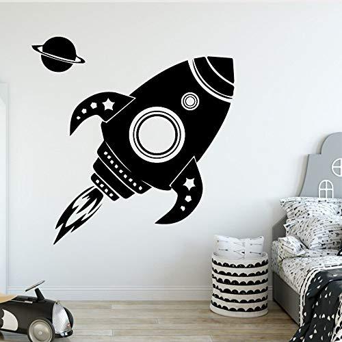 WERWN Papel Pintado de la decoración del Partido Familiar de la habitación de los niños del Arte del Cohete de la Moda Creativa