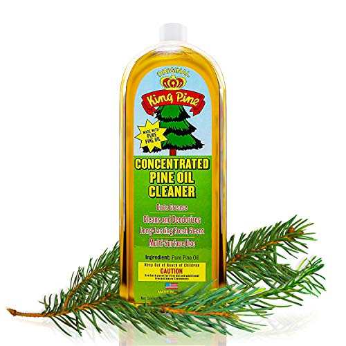 King Pine Concentrated Pine Oil Multi-Surface Cleaner Industrial Strength, Gold, 16 oz