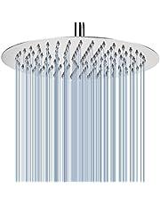 Voolan 20 cm hogedruk regendouche - 304 roestvrijstalen regendouchekoppen - comfortabele douche-ervaring, zelfs bij een lage waterstroom