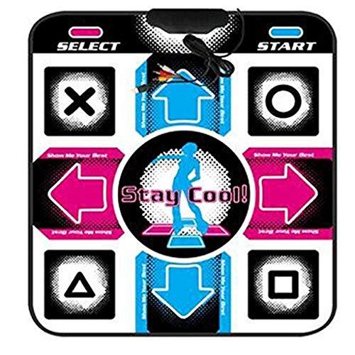 LYDB Rug Tanzteppich Skidproof Dance Mat Decke Computer Tanzmatte Für USB 0,8 cm Dicke Matte 90 cm * 80 cm