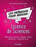 Les prérequis pour réussir - Licence de Sciences - Maths pour les sciences, physique, chimie, géosci - Maths pour les sciences, physique, chimie, géosciences, sciences de la vie
