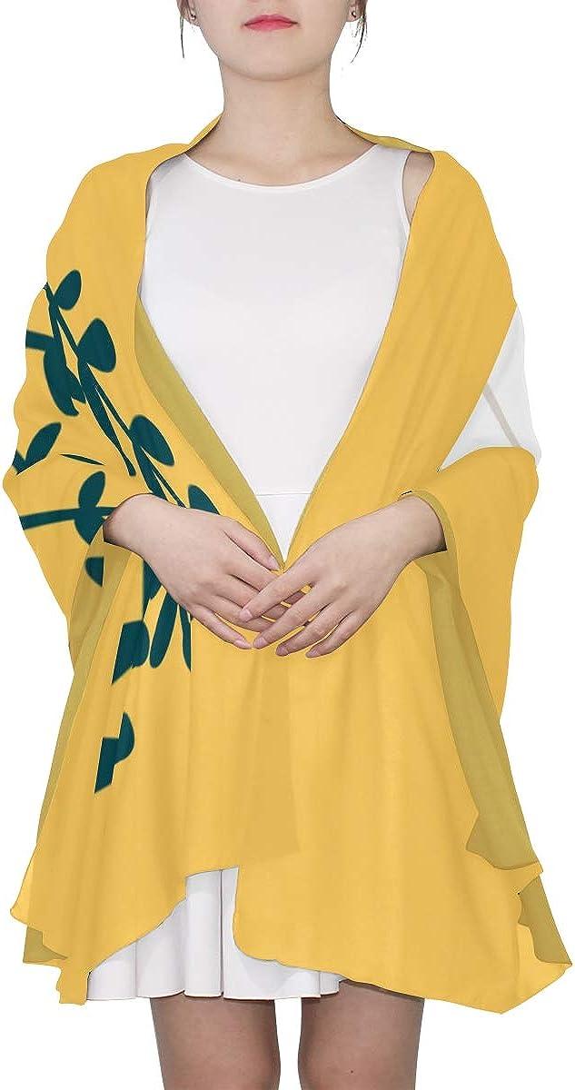 Fresh White Daikon Radish Unique Fashion Scarf For Women Lightweight Fashion Fall Winter Print Scarves Shawl Wraps Gifts For Early Spring