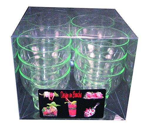 MMB17 Vaso Tulip - 5,2cl 5x5,5cm Pack12 uds. presentación degustaciones en catering...