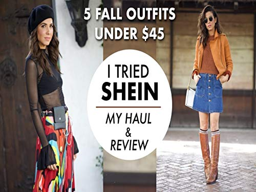 I Tried Out Shein! Haul Plus Review And Outfits! By Orly Shani
