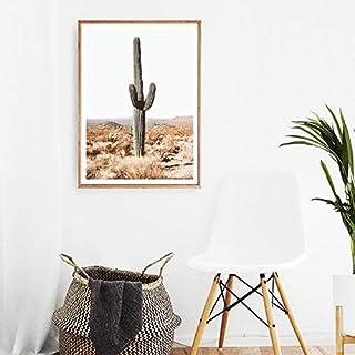 YuFeng Art Inn Southwestern Desert Landscape Travel Modern Wall Poster Art Print Oil Painting on Canvas Home Decor Wall De...