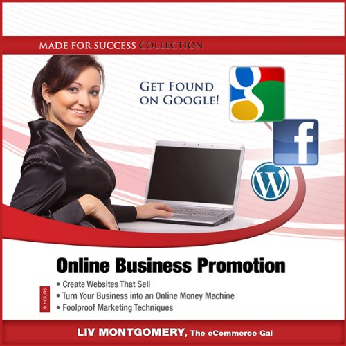 Online Business Promotion audiobook cover art