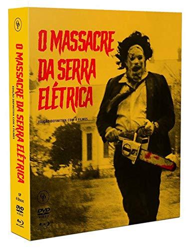 O Massacre da Serra Elétrica - Edição Definitiva - 2 blu-rays + 2 dvds