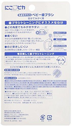Wakodo Japan - And for polish Wakodo Nico Pika baby toothbrush yourself