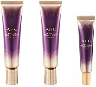 AHC Ageless Real Eye cream for Face (30ml +30ml + 12ml) Concentrated eye cream for the whole face