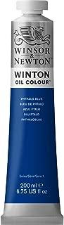 Winsor & Newton Winton Oil Colour Paint, 200ml tube, Phthalo Blue