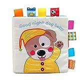 Libros Blandos para Bebé, Libro activity bebé - juguetes educativos, Libro de Tela Bebé Aprendizaje y Educativo Libro para Bebé Recién Nacido Niños, Juguetes y Aprendizaje