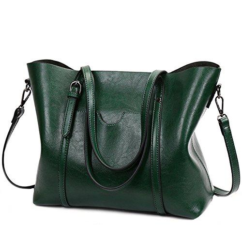 FiveloveTwo Frauen Wasserdichte Damen Umhängetasche Henkeltaschen Tasche Schultertasche Shopper Satchel Handtaschen Tote Shoulder Bag