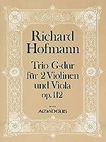 HOFMANN R. - Trio Op.112 en Sol Mayor para 2 Violines y Viola (Partes) (Pauler)