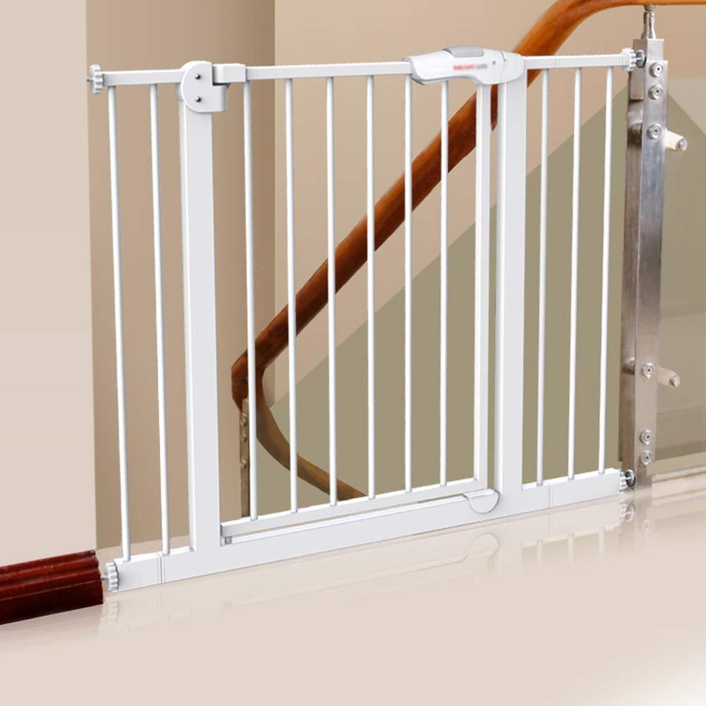 Puerta De Seguridad para Bebés para Escaleras, Valla Protectora Interior para Mascotas, Montaje A Presión, Altura 77 Cm (Size : 125-134cm): Amazon.es: Hogar