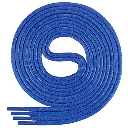 Di Ficchiano-SW-03-chaber-120 gewachste runde Schnürsenkel, Schuband, Laces, Durchmesser 2-4 mm für Businessschuhe, Anzugschuhe und Lederschuhe