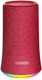 Anker SoundCore Flare Draagbare luidspreker, rood, cilinder, knoppen, IPX7, waterdicht