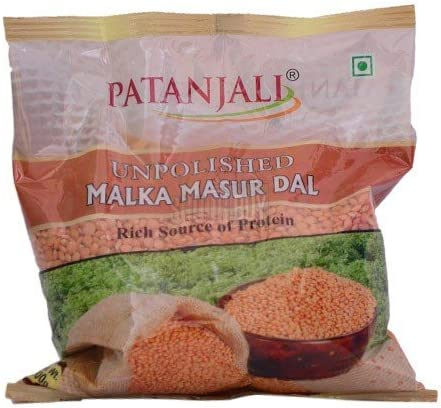Recommended Patanjali overseas Red Lentils Masoor Kg 1 Pulses
