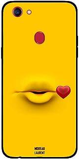 Oppo F5 Case Cover Kiss Full Yellow, Moreau Laurent Premium Phone Covers & Cases Design