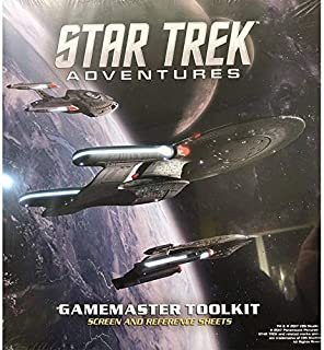 Star Trek Adventures GM Screen Star Trek RPG Acc.