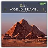 National Geographic World Travel - Weltreise 2022 - 12-Monatskalender: Original Carousel-Kalender [Mehrsprachig] [Kalender]