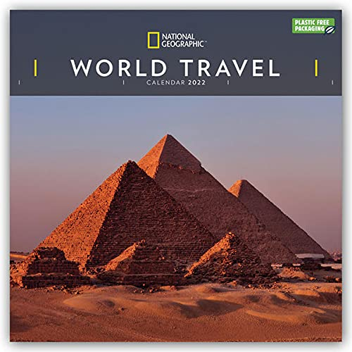 National Geographic World Travel – Weltreise 2022 – 12-Monatskalender: Original Carousel-Kalender [Mehrsprachig] [Kalender] (Wall-Kalender)