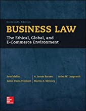 Best business law mallor 16th edition Reviews