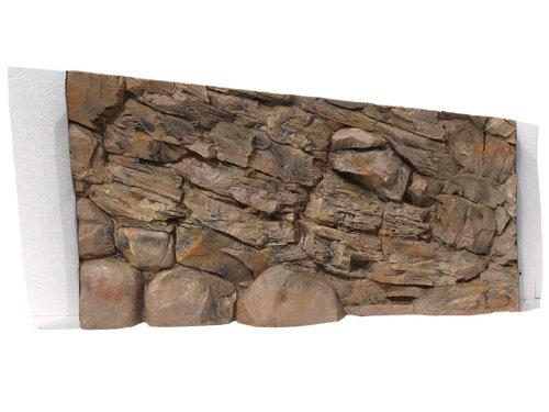 ABG068 Aquarium Rückwand 3D Felsen 120x60 bei Robizoo