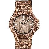 [ウィウッド] 腕時計 9818118 正規輸入品 ブラウン