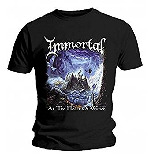 Immortal - T-Shirt - At The Heart Of Winter