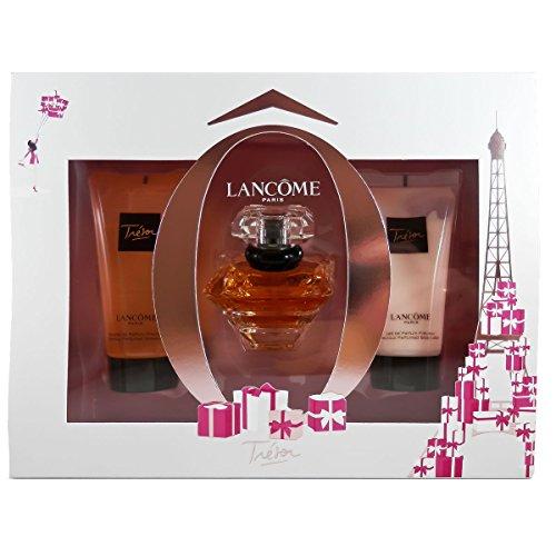 Lancôme Trésor femme Geschenkset, 1er Pack (Eau de Parfum 30 ml, Körperlotion 50 ml, Duschgel 50 ml)