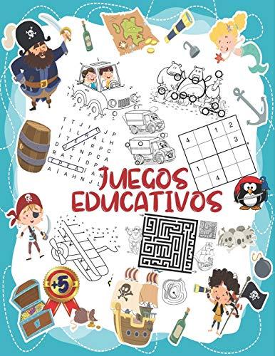 Juegos Educativos: Rompecabezas y pasatiempos para niños a partir de 5 años, Encuentra las diferencias, Sopa de letras, Sudoku, Desafío laberintos, Unir los puntos.....