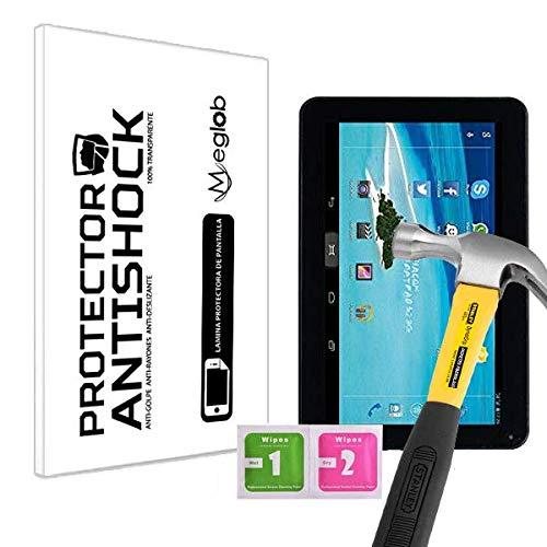 Protector de Pantalla Anti-Shock Anti-Golpe Anti-arañazos Compatible con Tablet Mediacom SmartPad S2 101