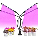 Grow Light, Upgraded Grow Lights for Indoor Plants Full Spectrum with & Red Blue, Led Grow Lights with 3/9/12H Timer, 3 Lighting Modes, 9 Level Brightness for Indoor Plants Succulent Veg Flower