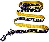NBA Golden State Warriors Dog Leash, Size Large. Heavy-Duty Metal Swivel Buckle Pet Leash
