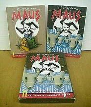 Maus A Survivor's Tale in Two Volumes w/slipcase by Art Spiegelman 1986 & 1991