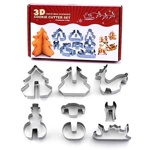 Emporte-pièces de Noël 3D