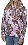 Yukon Gear Women's Hunting Performance Fleece Hoodie, Pink Winter Camouflage, Small