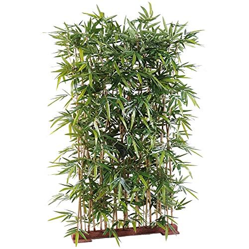 Flore Office - Bambú artificial para plantas artificiales (bambú, 75 x 150 cm)